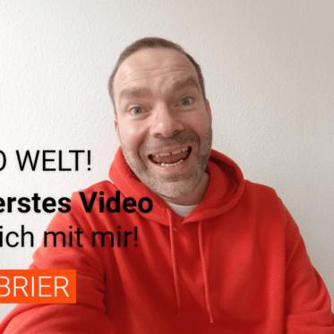 Hallo Welt, hallo YouTube!