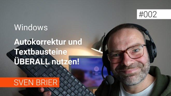 Autokorrektur und Textbausteine für alle Windows-Programme
