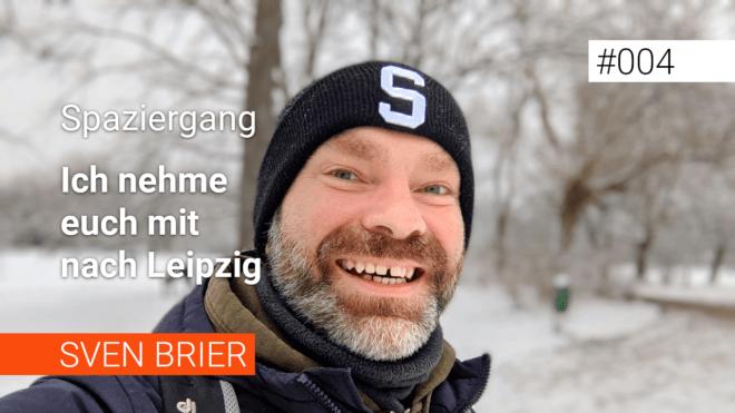 Spaziergang im Schnee - ich nehme dich mit durch das verschneite Leipzig